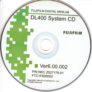 Buy DL400 system CD from minilablaser.com!
