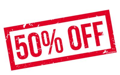 50% OFF for a LifeTime membership plan!